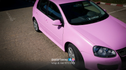 Colantare integrala ROZ - VW GOLF - AVERY SILKY PINK