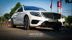 Mercedes S Chrystal White