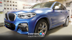 BMW X4 - Blue Avery Satin