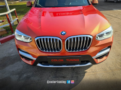 BMW x4 custom wrap