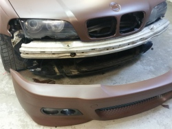 Colantare brown mat BMW E46